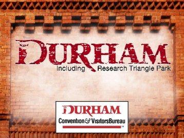What IS Unique About Durham