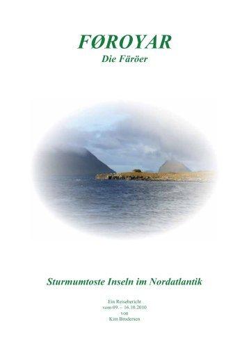 FŘROYAR - MG Skandinavien Reisen