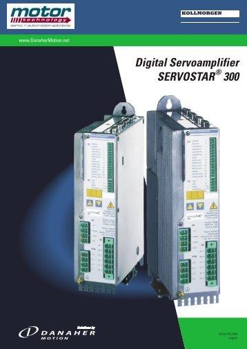 Digital Servoamplifier SERVOSTAR 300 - Motor Technology Ltd