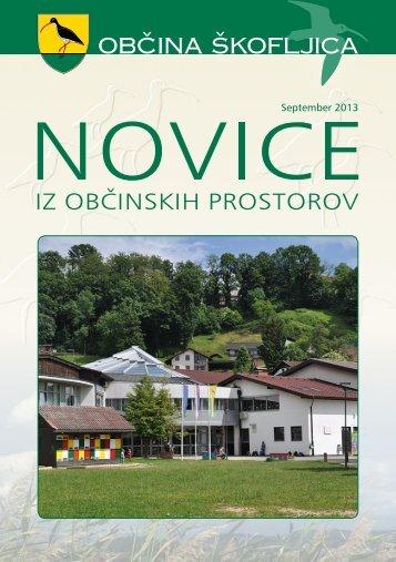 Pregled vsebine v pdf. obliki. - Občina Škofljica