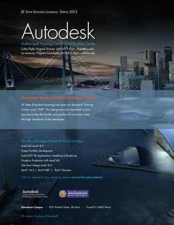Autodesk - College of Extended Learning