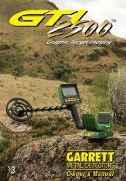 Learn more (GTI 2500 Manual) - Garrett