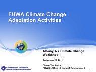 FHWA Workshop 8 Adaptation DT - New York State Association of ...
