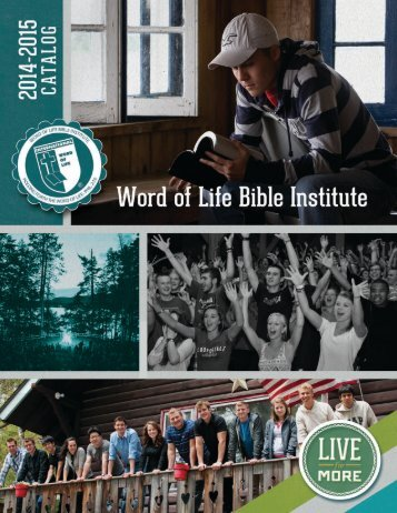 Download the Catalog - Word of Life Bible Institute