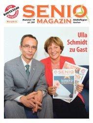 Ulla Schmidt zu Gast - Senio Magazin