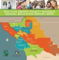 San Luis Obispo County Schools Annual Education Report 2013