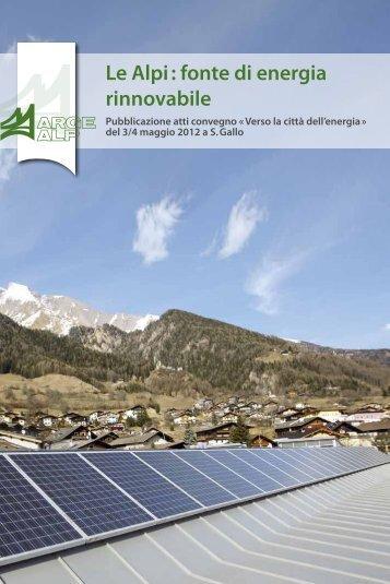 Le Alpi : fonte di energia rinnovabile - Energiestadt