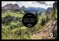 Katalog kola & doplňky 2013 - SCOTT Sport