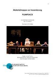 Materialmappe zur Inszenierung PLUMPSACK - Theater Ulm