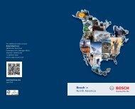 Bosch in North America