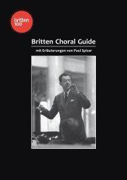 Britten Choral Guide