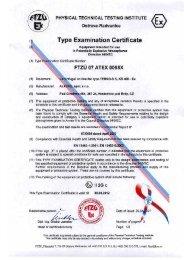 Type Examination Certificate - ALTEKO