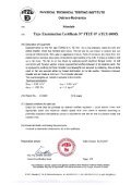 Type Examination Certificate - ALTEKO - Page 2
