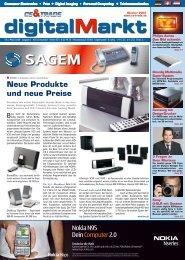 Neue Produkte und neue Preise