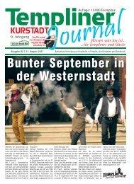 Bunter September in der Westernstadt