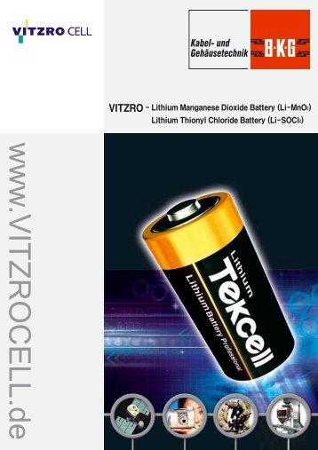 www .VITZROCELL.de - BECK GmbH & Co. Elektronik Bauelemente ...