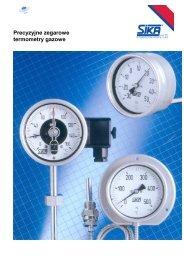 Precyzyjne zegarowe termometry gazowe - TECHNICON Sp. z oo