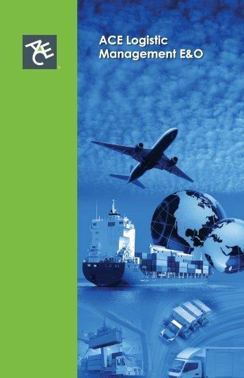 ACE Logistic Management E&O ACE Logistic ... - ACE Group