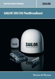SAILOR 500/250 FleetBroadband - GMPCS Personal ...