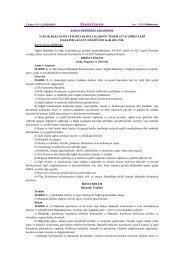 Sağlık Bakanlığı ve Bağlı Kuruluşlarının teşkilet ve görevleri ...