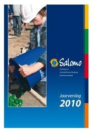 Jaarverslag 2010 Financiën - Salomo