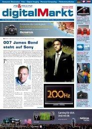 007 James Bond steht auf Sony