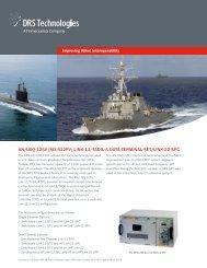 AN/USQ-125V MX-512PV - DRS Technologies