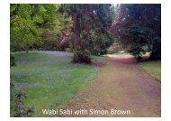 Wabi Sabi with Simon Brown