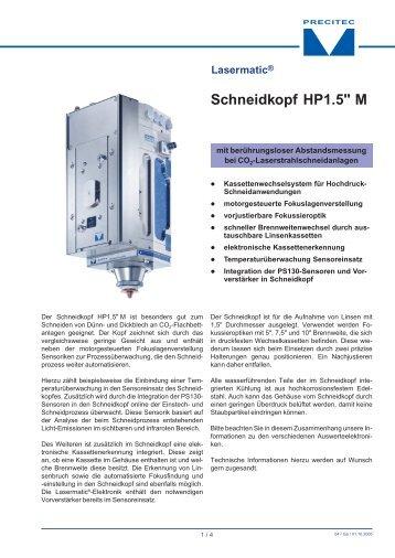 """Schneidkopf HP1.5"""" M - ARNEZEDER"""