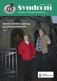 Syndrom nr 1 - 2008.indd - Arbeidsmiljøskaddes landsforening