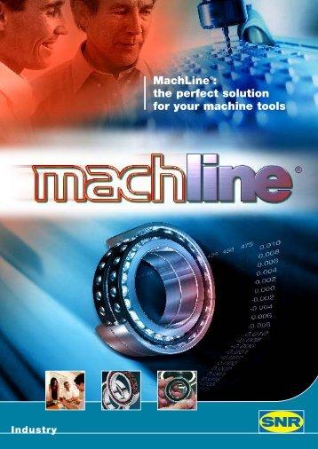 прецизионные подшипники SNR серии MACHLINE