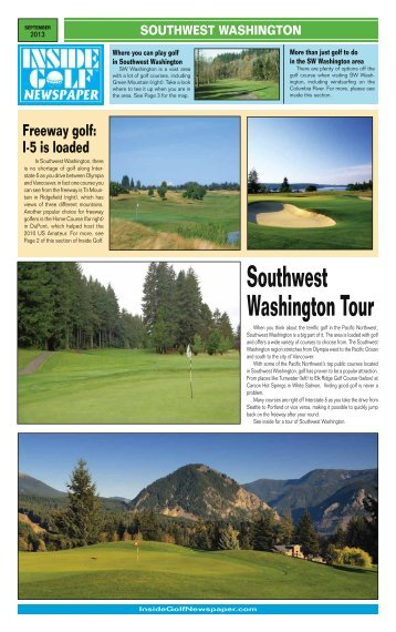 Southwest Washington Tour - Inside Golf Newspaper