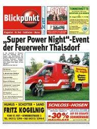 Super Power Night - Pixelpoint Multimedia Werbe GmbH