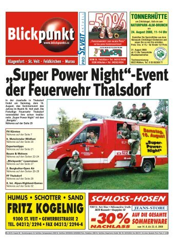 Super Power Night - Pixelpoint Multimedia Werbe GmbH