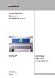 GC/GCP - Hobart Food Equipment