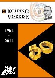 Festschrift zum 50. Jubiläum - Kolpingsfamilie Ennepetal-Voerde