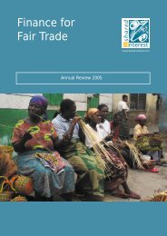 Finance for Fair Trade