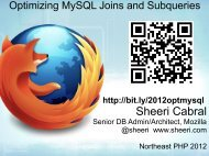 Optimizing MySQL Joins and Subqueries