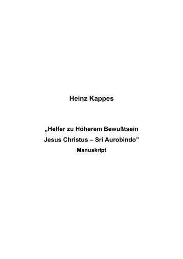 T-0457 - Helfer zu Höherem Bewußtsein - Heinz Kappes