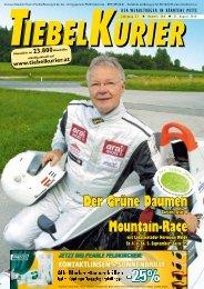 Der Grüne Daumen Mountain-Race - Tiebelkurier