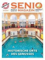HISTORISCHE ORTE DES GENuSSES - Senio Magazin