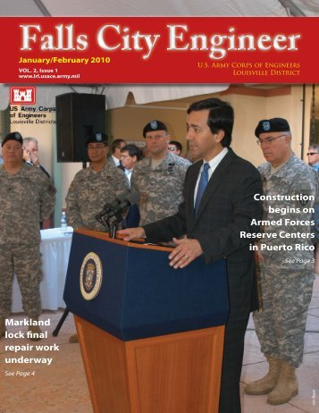 January/February 2010 - Louisville District - U.S. Army