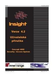 Insight 4.0. - uživatelská příručka - Eurosat CS