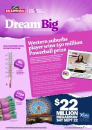 Issue 49 - September 2012 - SA Lotteries