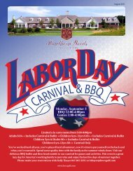 Monday, September 5 BBQ 12:00-4:00pm Games 1:00-4:00pm