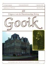Nummer 69.qxd - Heemkundige Kring van Gooik
