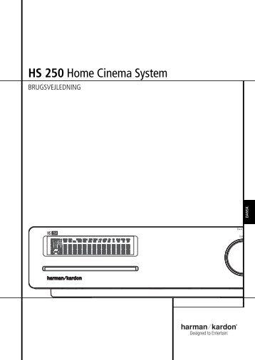 HS 250 Home Cinema System - Harman Kardon