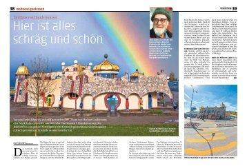 Ein Haus von Hundertwasser - Markthalle Altenrhein