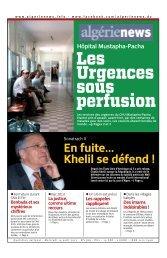 Fr-14-08-2013 - Algérie news quotidien national d'information
