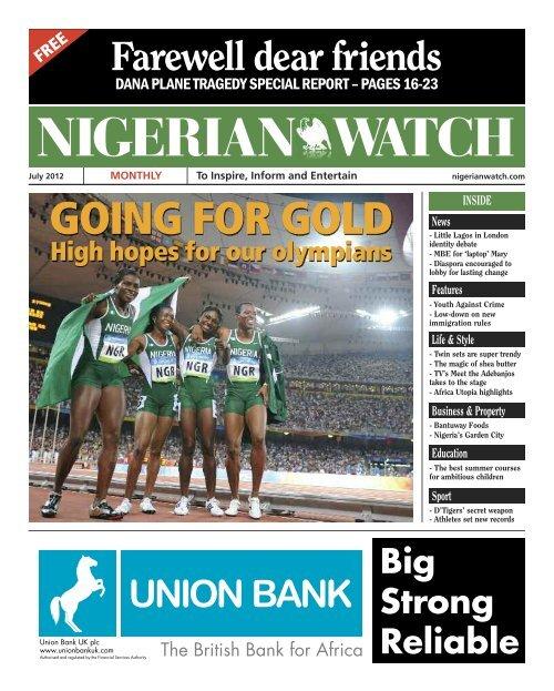 July 2012 Edition Nigerian Watch